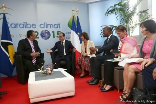 F Hollande Caraibes climat